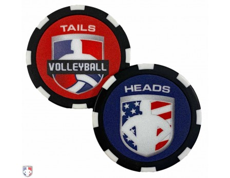 Volleyball Referee Flip Coin