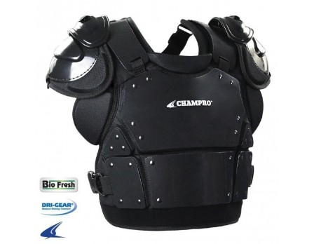 CP335 Champro Pro-Plus Plate Armor Umpire Chest Protector Front View
