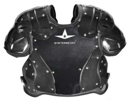 CPU4000 All-Star System Seven Umpire Chest Protector Front View