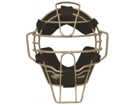 DFM-UMP-PGY Diamond Pewter Grey iX3 Aluminum Umpire Mask with Quik-Dry Front View