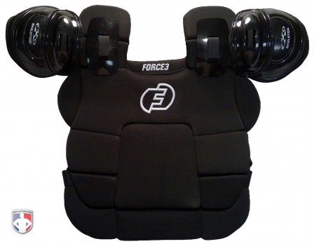 F3-CPv3 Force3 V3 Ultimate Umpire Chest Protector Front View
