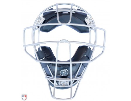 F3-DEF-BK Force3 Silver Defender Umpire Mask with Black Front