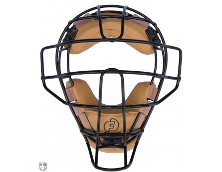 F3-DEF-BK/TN Force3 Defender Umpire Mask with Tan