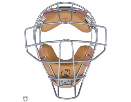 F3-DEF-TN Force3 Silver Defender Umpire Mask with Tan