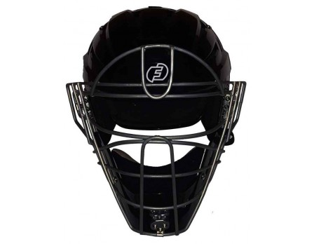 Force3 V2 Black Defender Hockey Style Umpire Helmet
