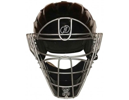 F3-HSMv2-SV Force3 V2 Silver Defender Hockey Style Umpire Helmet