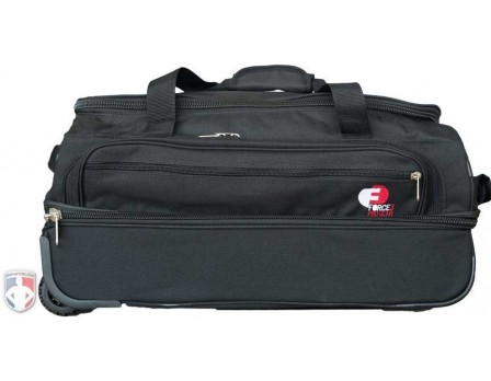 "F3-MINI Force3 ""Mini"" Ultimate 23"" Wheeled Referee Equipment Bag with Telescopic Handle Front View"