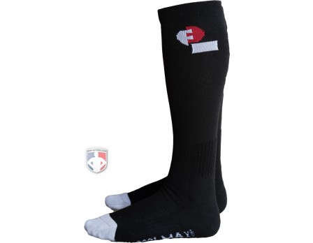 F3-ULT-SOX-BK Force3 Ultimate Referee / Umpire Socks
