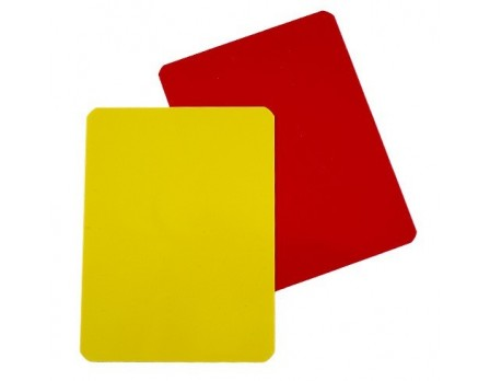 F52 Referee Penalty & Warning Cards