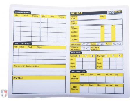 refsmart rewritable football referee information card information