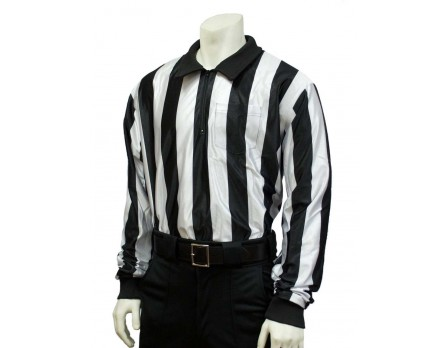 "FB123-Smitty 2"" Stripe ""Hybrid"" Cold Weather Referee Shirt"