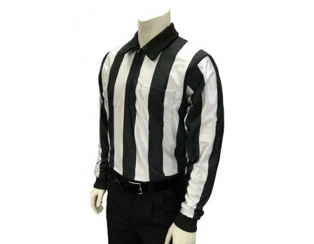 "FB124 Smitty 2 1/4"" Stripe ""Hybrid"" Cold Weather Referee Shirt"