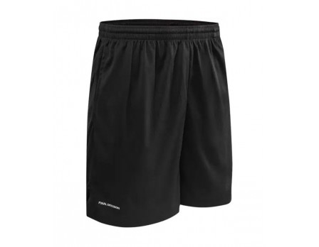 Final Decision Decider Black Soccer Referee Shorts