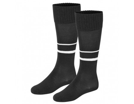 Final Decision Leon 2-Stripe Soccer Referee Socks