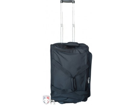 "F3-MINI Force3 ""Mini"" Ultimate 23"" Wheeled Referee Equipment Bag with Telescopic Handle Standing Front View"