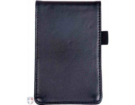 "Leather ""Flip"" Style 6"" Umpire Lineup Card Holder / Game Card Referee Wallet"