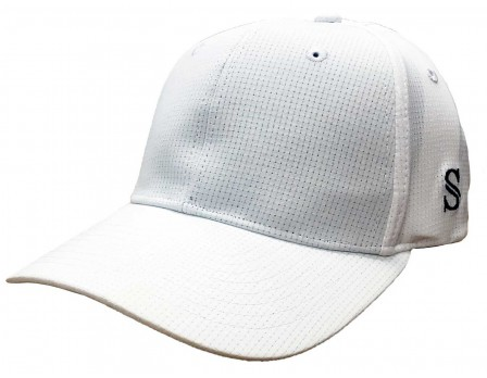 HT111 Smitty Performance Flex Fit White Referee Cap