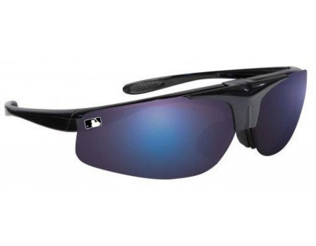 MLB-FLIP Franklin MLB Deluxe Flip-Up Sunglasses Front Angled View