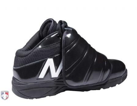 MU460WT3-NEW BALANCE V3 MLB BLACK   WHITE MID-CUT UMPIRE PLATE SHOES BACK ed526672a