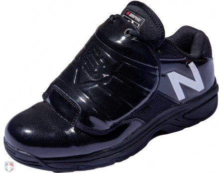 MUL460W3-New Balance V3 MLB Black & White Low-Cut Umpire Plate Shoes