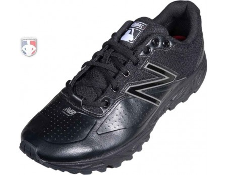 New Balance MLB All-Black Low-Cut Umpire Base Shoes - MU950LK2