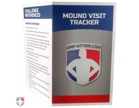 NCAA & NAIA Mound Visit Tracker Cards