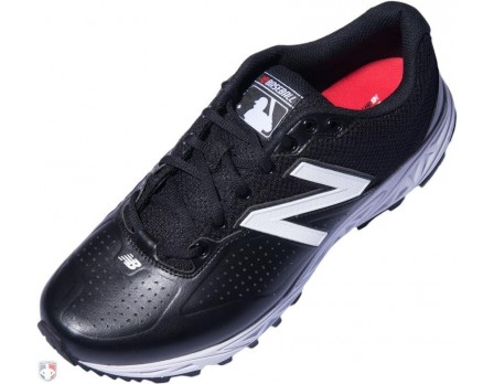 New Balance MLB Black & White Low-Cut Umpire Base Shoes - MU950LW2