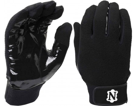 NEU-GLOVE-BK Neumann All-Black Officials' Gloves