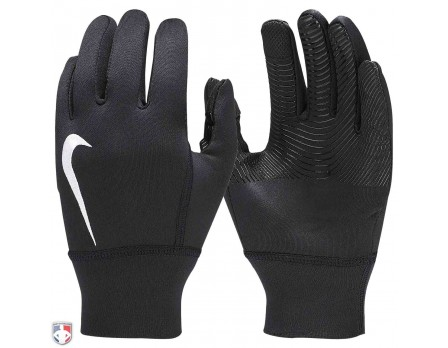 NIKE-THERMA-GLOVE Nike All-Black Therma Gloves Pair
