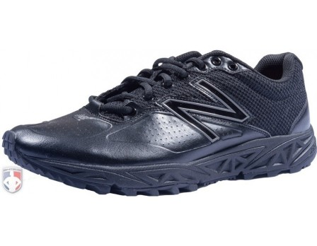 New Balance All-Black Umpire / Referee Field Shoes - MU950AK2