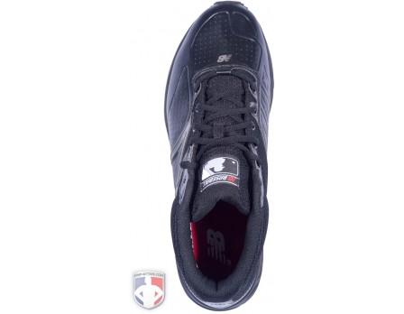Black Mid-Cut Umpire Base Shoes