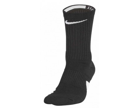 NIKE-ELITE-CREW Nike Elite Crew Socks Front Outside Angled View