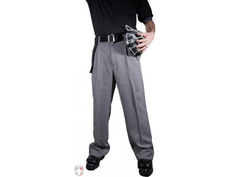 S17X Smitty Heather Grey Umpire Plate Pants with Expander Waistband