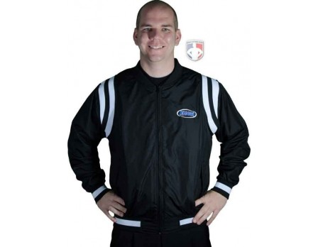 KHSAA Basketball Referee Jacket-Blk/Wht Shoulder Insets