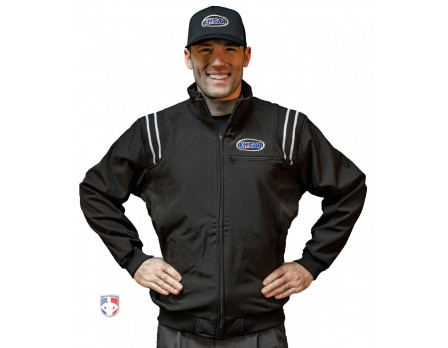 KHSAA Smitty Fleece Lined Umpire Jacket - Black and White