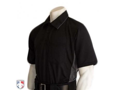 5d6a1ba2a35 Smitty Major League Replica Umpire Shirt - Black with Charcoal Grey ...