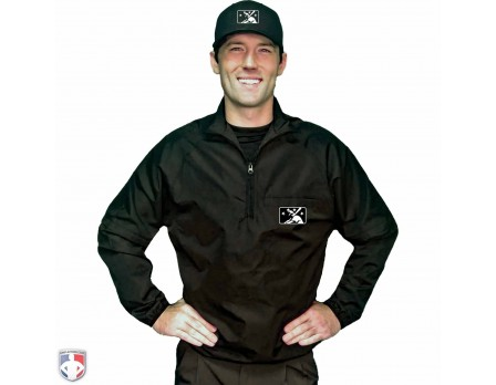 S326-MiLB-Smitty Convertible Umpire Jacket - Black