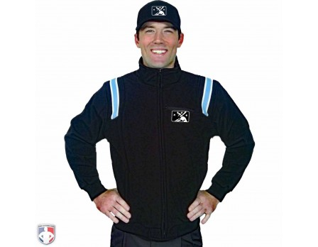 S330-MiLB MiLB Smitty Fleece Lined Umpire Jacket Worn Front View