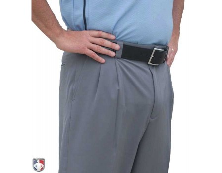 S391-HG-Smitty Performance Heather Grey Poly Spandex Combo Umpire Pants