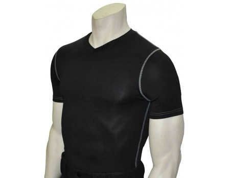BK-411 Smitty Compression Fit V-Neck Short Sleeve T-Shirt