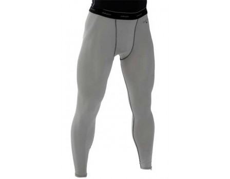 S416 Smitty Grey Compression Tights with Cup Pocket