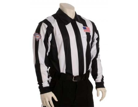 "USA730SC South Carolina (SCFOA) 2 1/4"" Stripe Foul Weather Football Referee Shirt"
