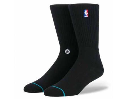 Stance NBA Logoman Crew Socks - Black