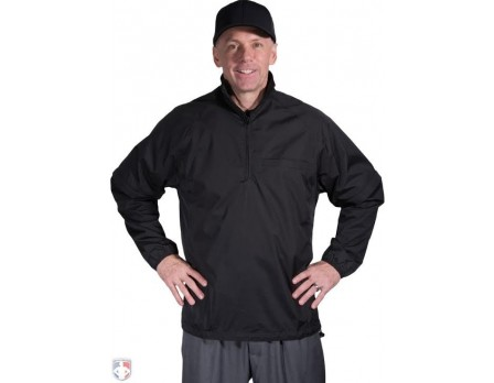 S326 Smitty Convertible Umpire Jacket - Black