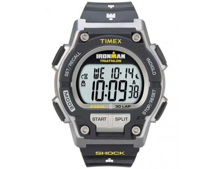 Timex IRONMAN Original 30 Shock Full-Size Resin Strap Watch