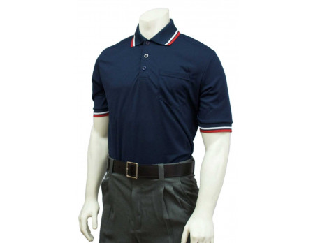 USA350-N Smitty Women's Umpire Shirt - Navy Front View