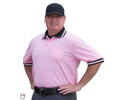 U126-PK Smitty Pro Knit Umpire Shirt - Pink