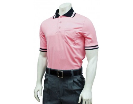 Smitty Pro Knit Umpire Shirt - Pink