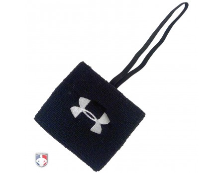 "UA-DOWN-BK Under Armour 3"" Black Sweatband Referee Down Indicator"