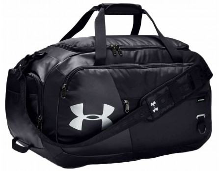 "UA-DUFF-4-BK Under Armour 25"" Undeniable 4.0 Duffel Bag Front View"
